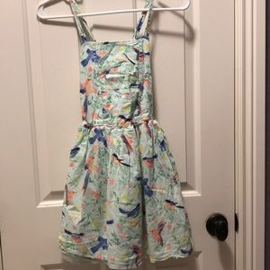 Dress with crosses straps